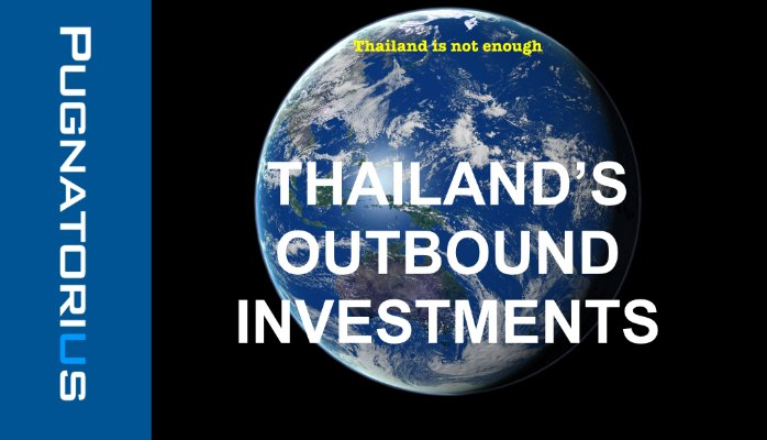 Thailand's outbound investments