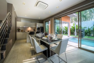 The Modernest Twin-Villa with Private Pool in Bang Tao ID.18BT3138 6