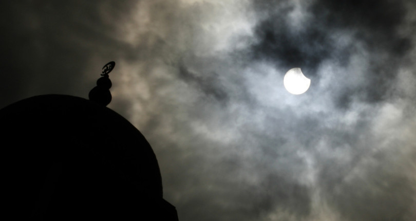 A partial solar eclipse will be visible on December 26th from 14 provinces of Thailand