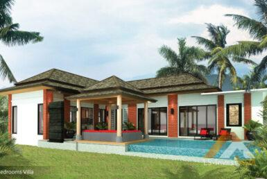 3 bedroom Villa in Thai-Balinese Style ID.20BT3111 4